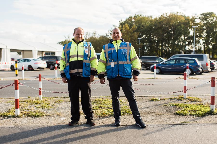 Mitarbeiter des Taxiservice