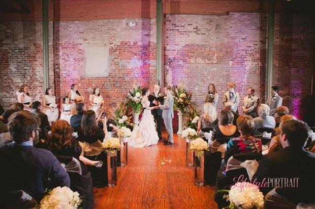 Lancaster Theatre Wedding Reception In Grapevine In