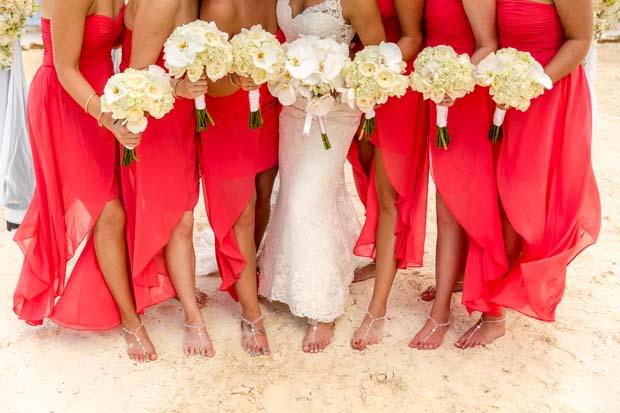 Bridesmaid Gifts Starfish Necklaces Beach Wedding Jewelry