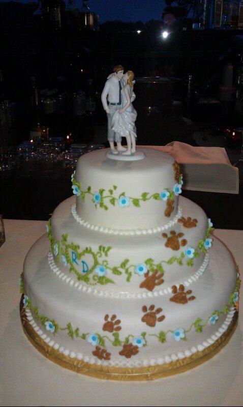 July 2012 Wedding Woof