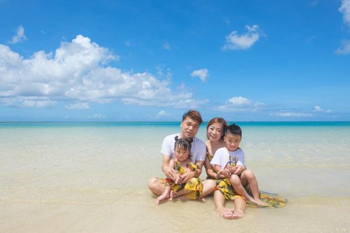 沖繩親子寫真、自然抓拍