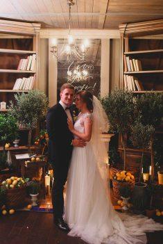 Тепло и по-домашнему: свадьба Александра и Анны