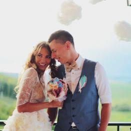 Яркое лето: свадьба Ростислава и Кати