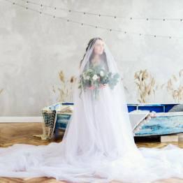 Дыхание моря: стилизованная фотосессия Дианы и Артура