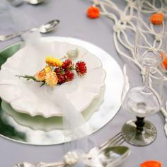 Осенний лес: стилизованная свадьба для двоих