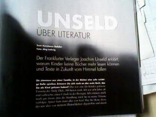 Joachim Unseld in Main-Feeling Herbst 2009