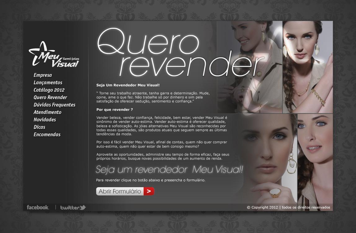 Portfolio Meu Visual Semi Joias Nova Friburgo We Design