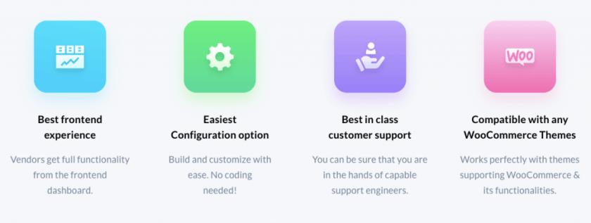 dokan multi-vendor plugin features