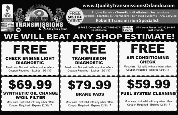 Quality Transmissions