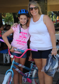 Girl's Bike Winner: Allyson Loiselle