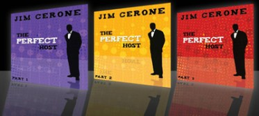 The Perfect Host DVDs presented by Jim Cerone, WED®