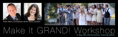 Make It GRAND! Workshop presented by Elisabeth Scott Daley, WED® & Peter Merry, WED®