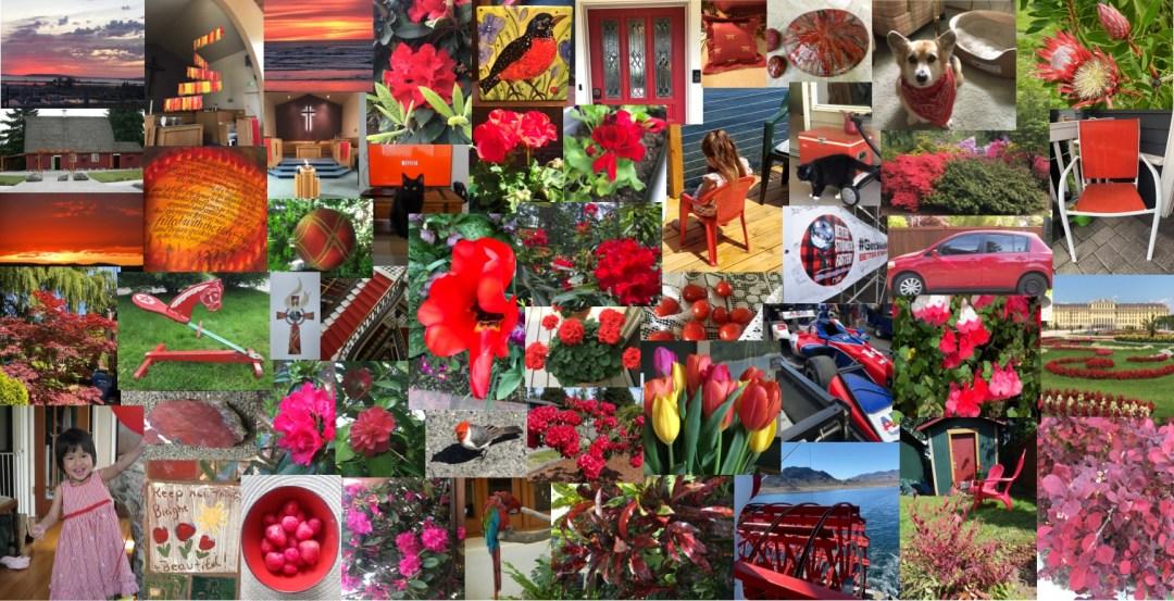 Pentecost Art Project Collage 2020