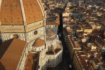Florence dome and building view