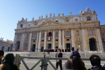 Rome xmas day basilica