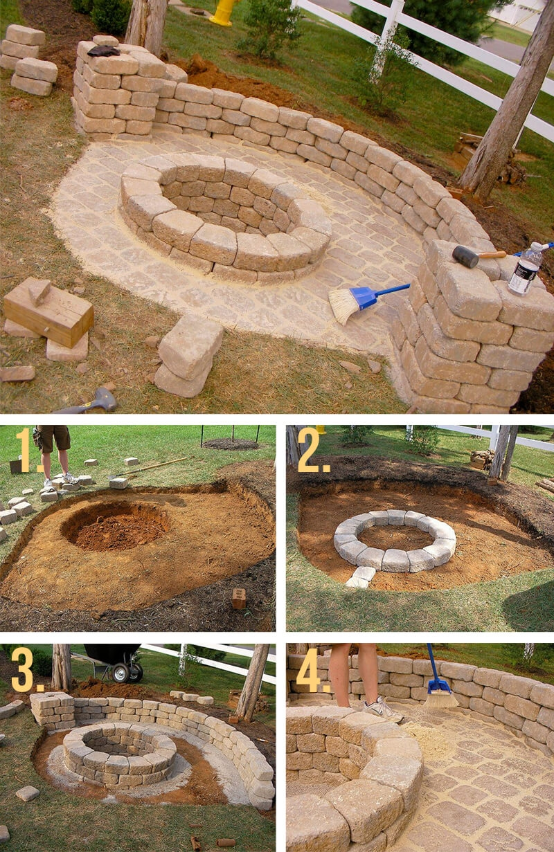 95 practical fire pit ideas and diy