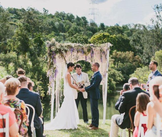 Macrame Ceremony Arch