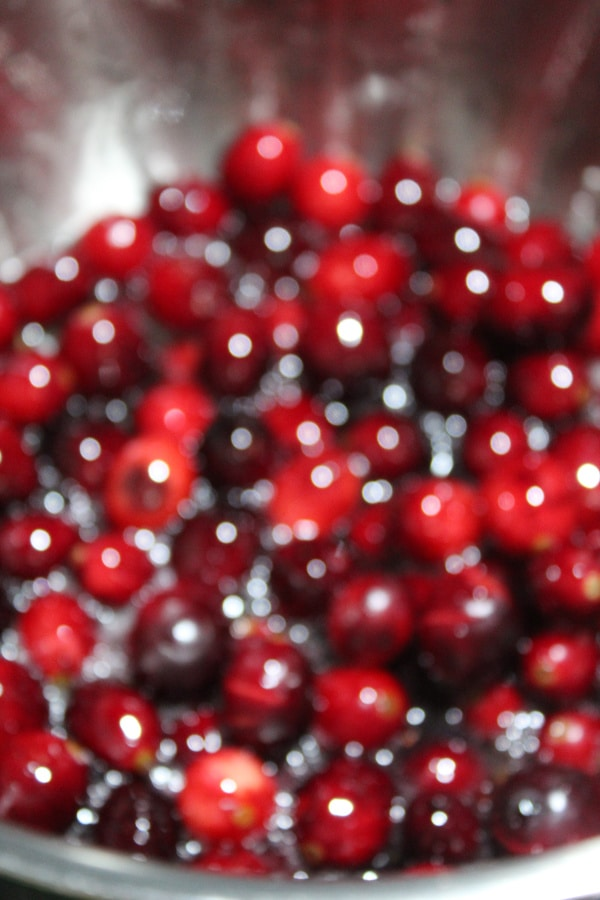 Cranberries in Syrup