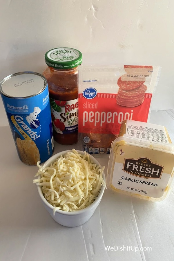 Ingredients For Pizza Pockets