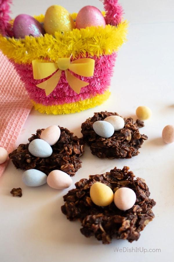 Chocolate Easter Birds Nest