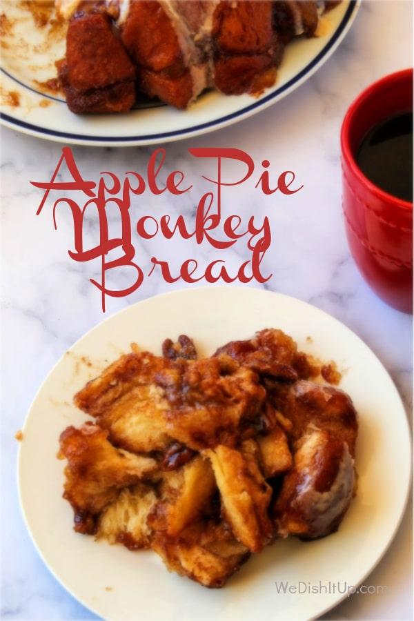 Extra Easy Apple Pie Bread