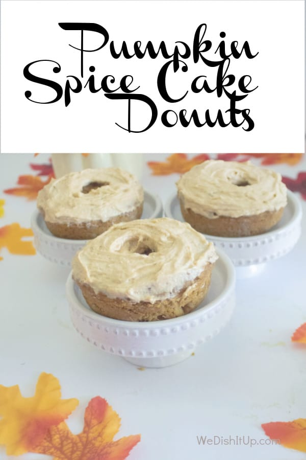 Pumpkn Spice Cake Donutsi
