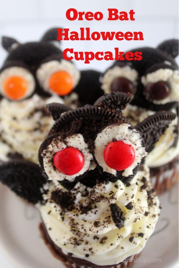Oreo Bat Cupcakes