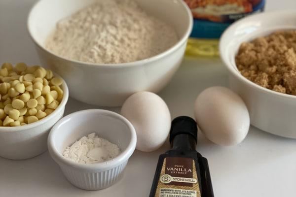 Ingredients for Blondies