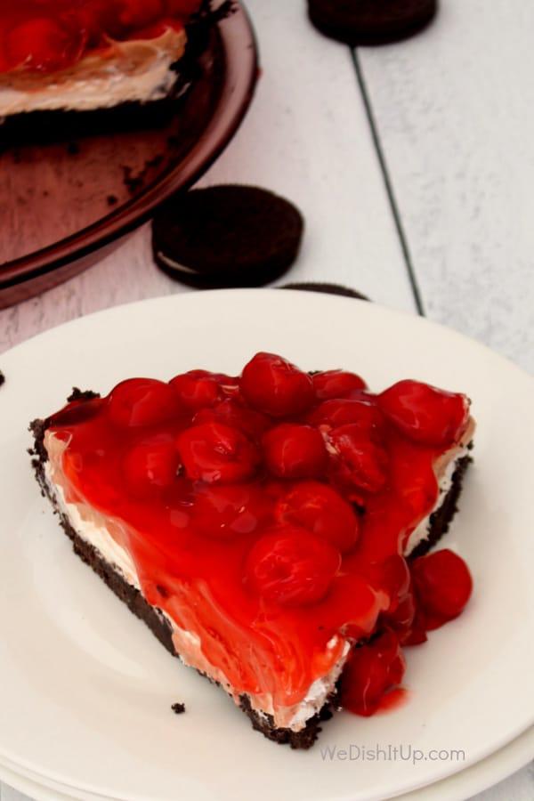 Black Forest No-Bake Pie