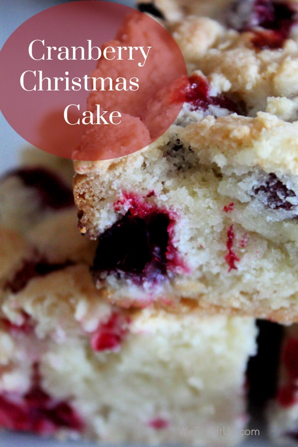dinner The Best Cranberry Christmas Cake