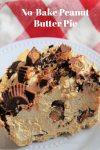 Easy No-Bake Peanut Butter Pie