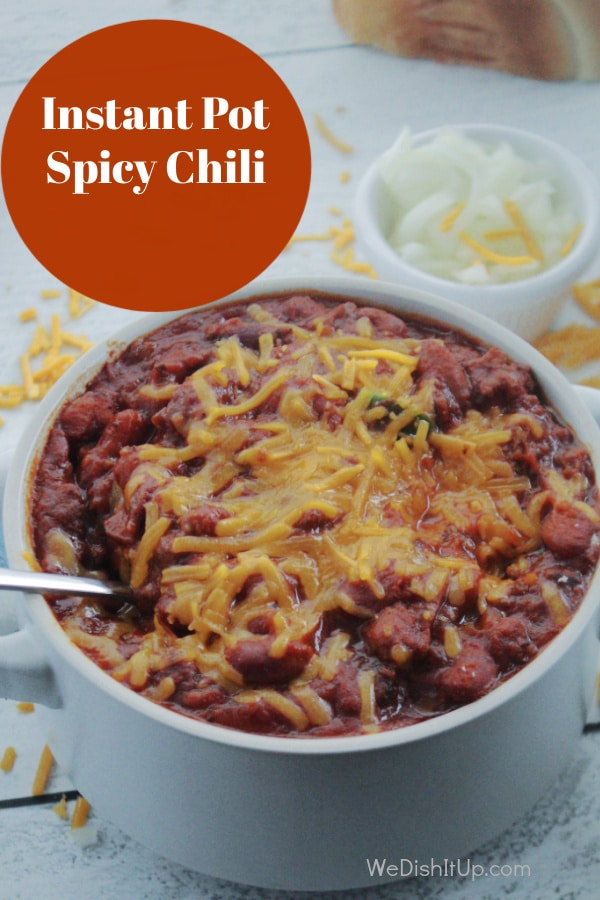Easy Instant Pot Spicy Chili