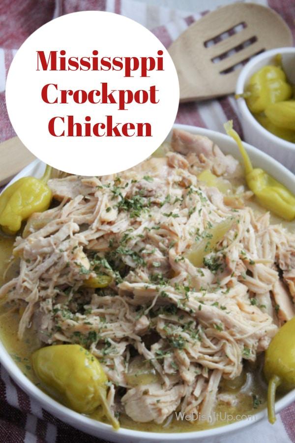 Mississippi Crockpot Chicken