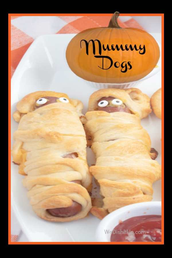 Halloween Mummy Dogs