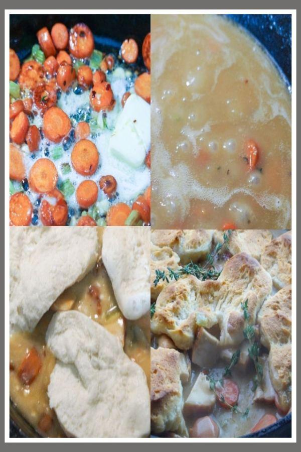 Pot Pie in Process