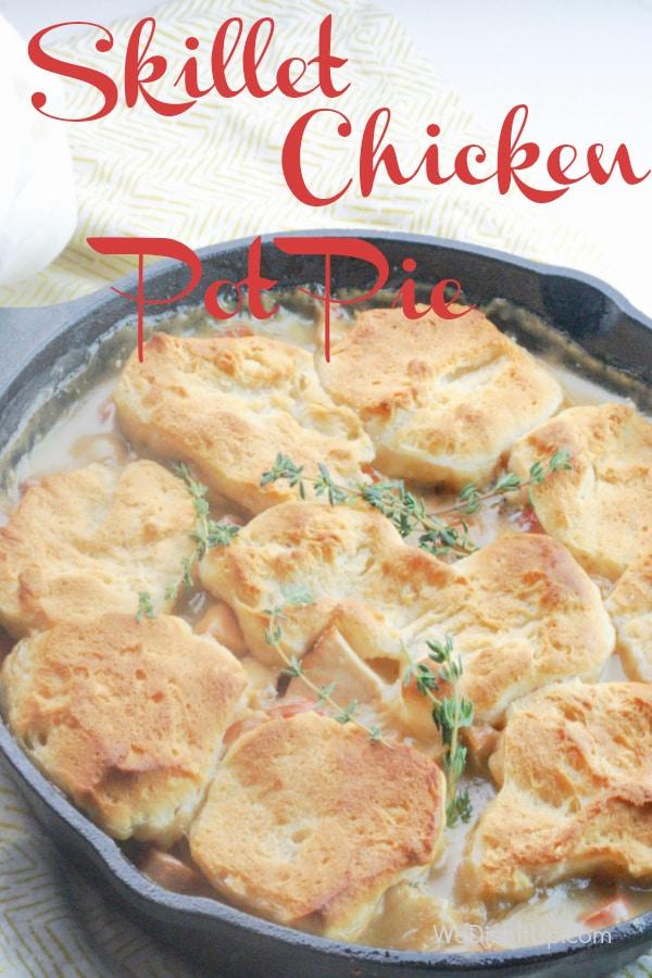 Chicken Pot Pie Cast Iron Skillet