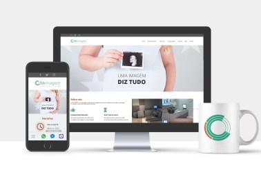 Clinimagem Diagnóstico por Imagem - marketing digital; site responsivo;