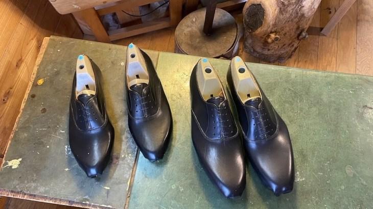 木型から作る靴づくり第67回_吊り込み本番