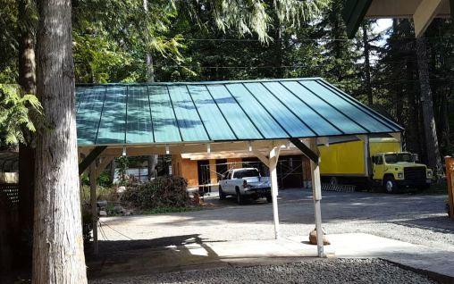 Wildwood Cabin - New Carport