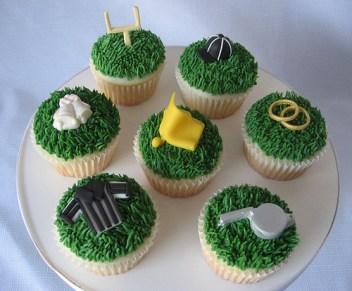 fotbalové cup cake