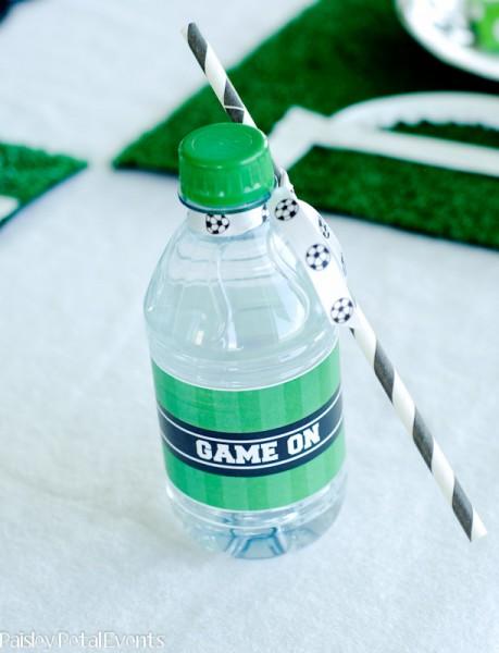 nápoje ve fotbalovém kabátku