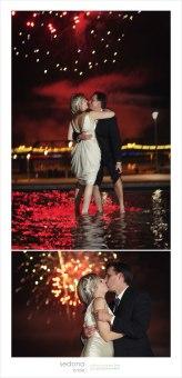 ohňostroje dokreslí romantické prostředí