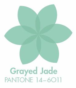 Barva pro letošní jaro - Grayed Jade neboli mintová