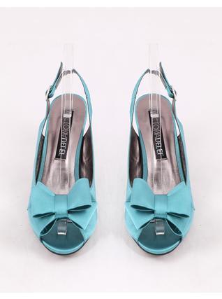Tyrkysové sandálky