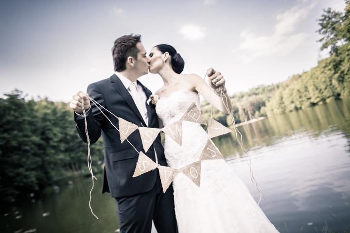 Svatební foto - jsme svoji