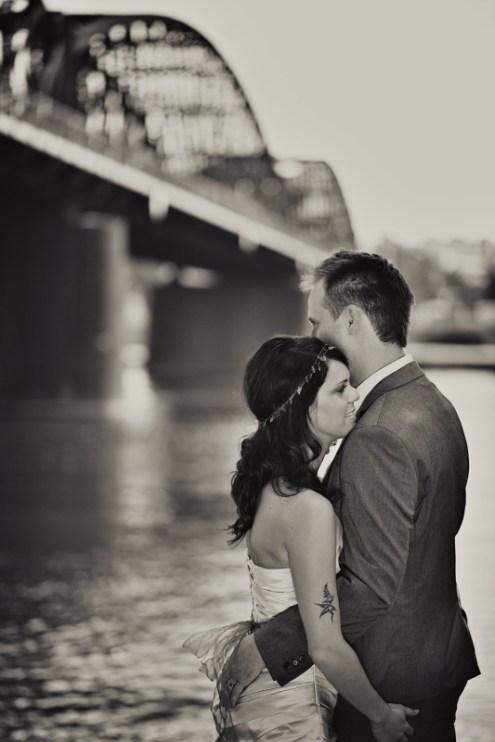 Romantické focení u vody