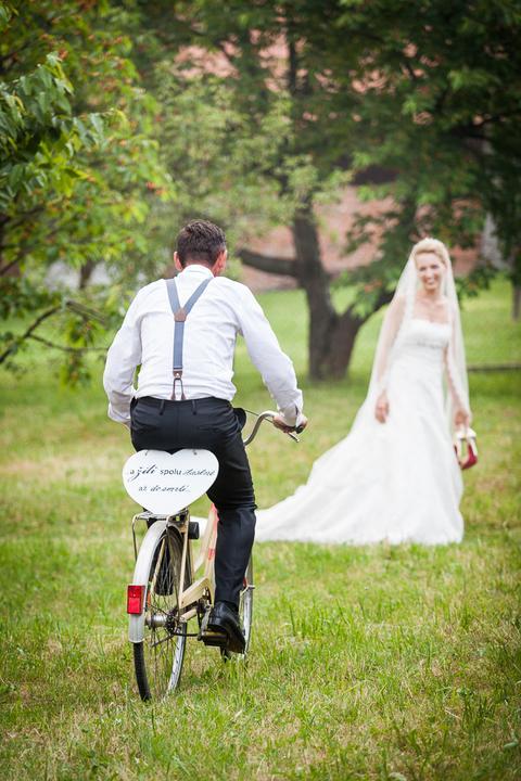 Svatební fotka novomanželů