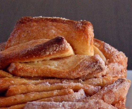 cinn pull apart bread