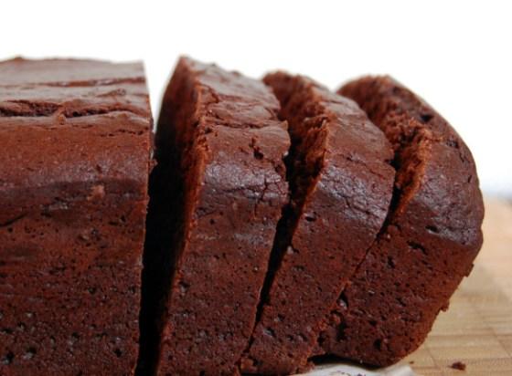 choco loaf cake main