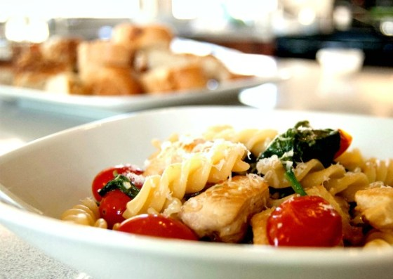 summer chk pasta